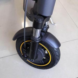 전동 스쿠터 앞 포크 흡수 장치 Ninebot Max 유압 흡수기 KitsCooter 수정 액세서리