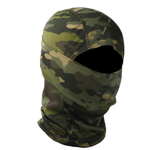 Outdoor Sports Gear Air soft Paintball Shooting Equipment Full Face Protection Tactical War game Cycling Army Camouflage Hood 01