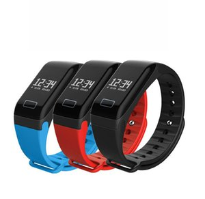 F1 Fitness Tracker Wristband Heart Rate Monitor Smart Band Smartband Blood Pressure With Pedometer Bracelet Blood oxygen watch bracelet