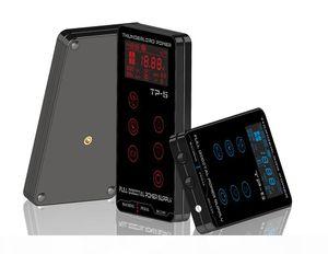 Tattoo Power Supply HP-2 HURRICAN UPGRADE Touch Screen TP-5 Intelligent Digital LCD Makeup Dual Tattoo Power Supplies set