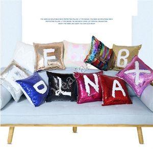 Payetler Boş Sublime Yastık Yastık Atma Yastık Kapak Isı Transfer Baskı Ev Koltuk Yastık Kılıfı Kapaklar 2020 F102401 Tasarımları