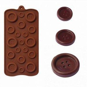 Кнопка Силикон Mold Multi-размер формы шоколада 1шт 4шт Бисквит Candy Bar Fondant Силиконовые формы торта Декор DIY Выпечка Tools vfyw #