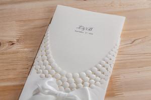 100pcs Luxury necklace wedding party invitation cards,Customized marriage engagement anniversary festa kit, matrimonio convites