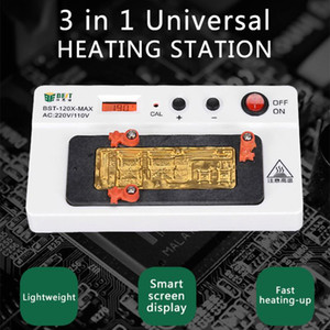 for X XS XS MAX Heating Station 3 in 1 Digital Motherboard Separator CPU IC Chips Mainboard Layered Heating Disassembly