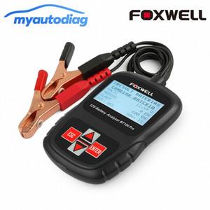 홍수, AGM, GEL 자동차 도구 분석기 9U6O 번호 디지털 배터리 테스터 폭스 웰 BT100 프로 12V 자동차 배터리 테스터