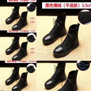 SIWv New Rois Stylist Pocket Boots Ankle Nylon Women Black BootsWinter Thick-Soled Shoes Wear-Resistant boots Rubber