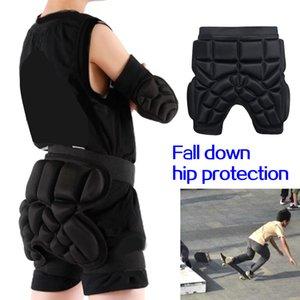 (279X) 3D Koruma Kalça Butt Paded Kısa Pantolon Koruyucu Dişli Görevlisi Darbe Pad