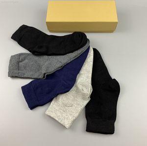 color Mens Gentleman's formal socks mid-length solid wear-resistant soft men's and women's cotton garter boutique gift b