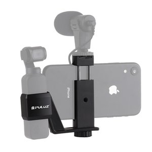 PULUZ Metal Phone Clamp Mount Expansion Fixed Stand Bracket for DJI OSMO Pocket