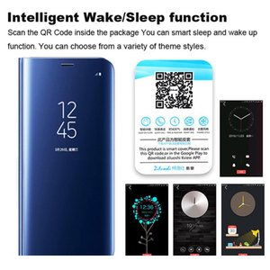 Smart Mirror Phone Case For Xiaomi Redmi Note 9s 9 8 7 5 6 Pro 8t 4x Redmi 9 9 wmtwER