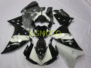 moto d'injection Kits de corps pour YAMAHA YZF R1 noir blanc YZF1000 12 13 14 YZF1000 YZFR1 carrosserie YZF R1 2012 2013 2014 kit carénages