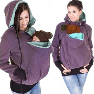 Europe Style Multifunctional Presenting Mother Kangaroo Baby Carrier Coat Front Facing Backpack Carrier Wrap Sling Kangaroo Bag