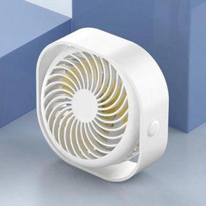 Ventilatore da tavolo USB portatile 3-velocità Air Air Fan Air Condizionatore Aria 360 ° per Gym Office Car Outdoor Camping Desktop Desk # EZ4S