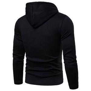Mode mit Packung Herren Hoodies Casual Soild Color Herren Langarm Warm Designer Mit Kapuze Herren Kleidung