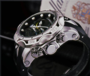 Cadeau original Boîte de cadeau Militaires Militaires Militaires Montres Montres Mode de luxe Top Designer Noir Cadran Noir Silicone Big Horloge
