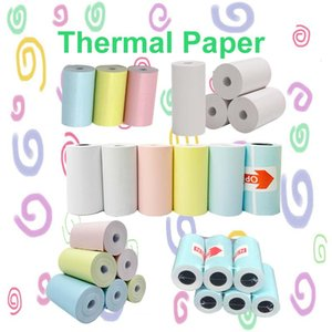 Label photo thermal paper sticker colorful paper roll 57*30mm for mini portable thermal printer PeriPage A6 A8 PAPERANG P1 P2