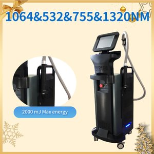 Noninvasive Comfortable Picosecond Laser Q Switched Nd Yag Laser Tattoo Removal Skin Whitening Wrinkle Removal Christmas Sale