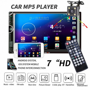 Doppel-DIN-Autoradio Autoradio 2 DIN Autoradio 7 HD Multimedia-Spieler Touch Screen Auto Audio Stereo Bluetooth FM Android 0uwW #