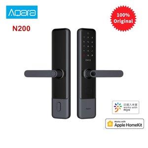 Aqara Smart N200 Door Lock Fingerprint Bluetooth Password NFC Unlock Works With Mijia Apple HomeKit Smart Linkage With Doorbell