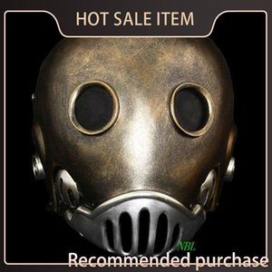 Horror The Clockwork Man Film Resin Hellboy Masquerade Erwachsener Kroenen Halloween SH190922 Helm Cosplay Maske Masken Größe Full Face Prop Qnps