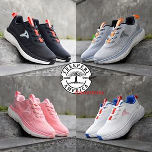 Luxuty fashion treeperi Pi platform white racer blue grey black red pink men women shoes Designer runner otdoor Chaussures trainers 5.5-10