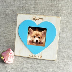 Personalized Dog Picture Frame New Dog Gift Puppy Photo Frame, Rustic Pet Memorial Picture Frame Pet Loss Gift