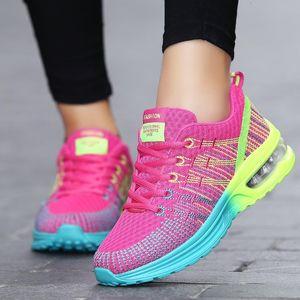 Mlcriyg Cushion Mujeres que corren las zapatillas de deporte zapatillas de deporte Mujer Deportiva 2019 Mujer transpirables zapatos para caminar ligero Zapatillas Mujer