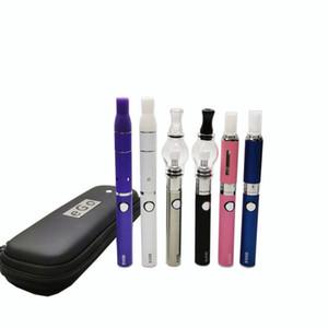 3in1 vaporizzatore sigaretta Starter Kit evod batteria MT3 eLiquid cera globo di vetro fa atomizzatori erbe secche 3 in 1 Vape penne DHL libero