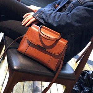 new Genuine Leather Bag Ladies Handbag Women Shoulder Bag Women Messenger Female Crossbody Tote Tablets Big 2020