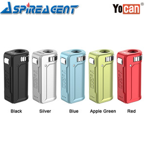 Yocan UNI S VV Box MOD 400mAh with 3 Voltage Levels 10S Preheating Adjustable Width & Height fit Atomizers 100% Original