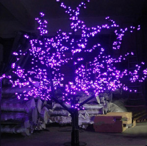 LED al aire libre LED Luz de árbol de árbol de cerezo Luz de árbol de Navidad 1248PCS LEDS 6FT / 1.8M Altura 110VAC / 220VAC Gota a prueba de lluvia Envío