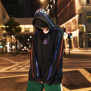 Men's sweater Spring and Autumn New Youth Leisure loose hooded fashion brand ins hip hop Harajuku style couple outfit