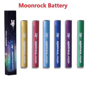 7 Цветов Moonrock Чистая батарея 350 мАч 10.5mm 510 Bud Touch Светодиодная батарея Razzle Peads для Bobby Blue Razzle Dazzle Carts 510 Картридж