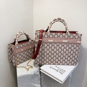 Pinksugao 여성 가방 디자이너 어깨 핸드백 명품 핸드백 대용량 지갑 여성 핸드백 캔버스 소재 토트