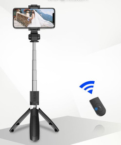 03 Mobile Phone Bluetooth Remote Control Mini Selfie Stick with Tripod Tik Tok Multi-functional iPhone Android Universal