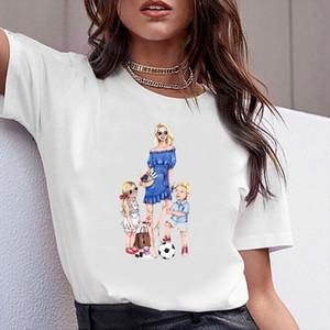 Frauen Kleidung Print Mom Life Sweet Happy Boy Gril Kurzarm Tshirt Gedruckt Frauen Hemd T SHIRT TOP THEE FRAU TEE