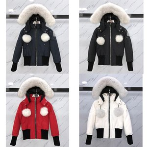 2020Winter Women Down Jacket 2020 Duck Down moose Jacket Coats Women Winter Jacket Keep Warm Portable Windproof knuckles Down Coat