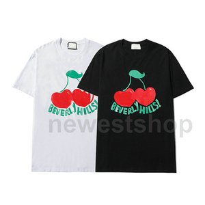 Designer summer luxury for Mens clothing T-shirts Fashion fruit print Classic simple Casual cotton women dress T shirt Tee Top Tshirt