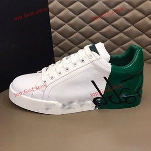 Dolce Gabbana shoes tênis de couro de rock corredor camuflagem perfeita para homens, estilo de luxo rocha pico CAMUSTARS ao ar livre sapatilhas casuais para homens YH18071901