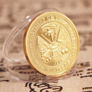 United States Army Special Froces Airborne placcato oro Souvenir Monete Fans dell'esercito Collezione Arte regalo Drop Shipping