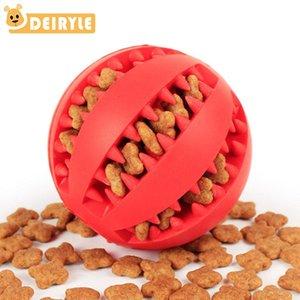 Dog Toys menta sapore gomma morbida Chew giocattoli palla Design Gear Put giocattolo pet tratta sfera Per Small Medium Large Dogs 5CM 7CM