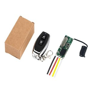 433MHz Wireless Remote Control Switch Long Range Mini Receiver 3.6V 12V 24V and 433 MHz Transmitter Remote Control