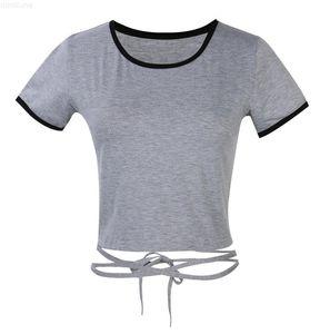 New Crop Summer Tops Womens 2020 Bralette Low Cut Top Bandage Short Tanks camis Women clothing