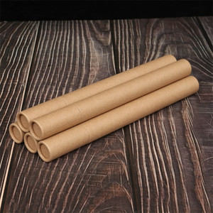 Kraft Paper Incense Tube Incense Barrel Storage Box for 10g 20g Joss Stick Convenient Carrying Paper Perfume Tube