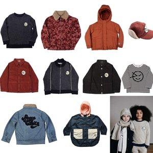 Детские куртки T-рубашки Wynken Face Trench Coend Детская одежда Застегивает молость Детские Девушки Толстовка Мальчики Одежда Верхняя одежда 2020 Зима LJ201007