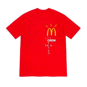 2020 Travis Scott Bad Guys camiseta The London Scotts T Shirt Effect Rap Butterfly Music Album Hombres Algodón Nuevo verano Hip Hop Top X1214