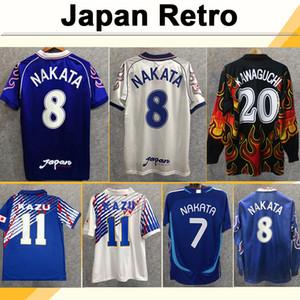 2006 Giappone National Team Nakata Mens Soccer Jerseys Soma Akita Okano Kawaguchi Retro Casa Abito Camicia calcio Camicia da calcio Kazu Hattori Uniformi