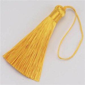 10pcs 8cm Brush Pendy Pendant Accessori per orecchini fai da te gioielli per la produzione di seta satinata nappa preparazioni artigianali artigianato fornitore h sqczvu