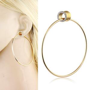 Ear Aço inoxidável Plugs e túneis Dangle Ear Piercing Screw Fit Expansão Ouvido esticada Body Piercing Jewelry