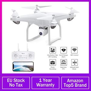 Potensic GPS D58 Drone 5G WIFI FPV Con grandangolare HD 1080P Hight attesa Modalità Braccio RC Quadcopter di ritorno automatico RTF Dron